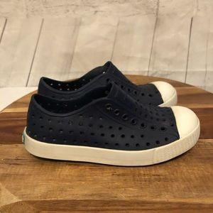 Native Navy Blue  Size C12 Shoes